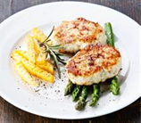 "Fish Burgers with Asparagus and Parsnip ""Fries"" (AIP)"