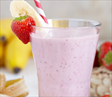 Strawberry Banana Delight Smoothie (Dairy Free, Grain Free)