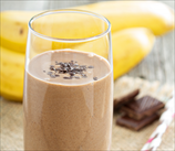 Chocolate, Almond Butter & Banana Smoothie