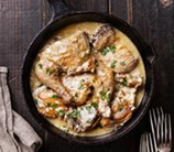 Creamy Paleo Garlic Chicken