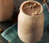 Chocolate and Peanut Butter Smoothie (Dairy Free)