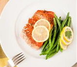 Cast Iron Salmon with Green Beans