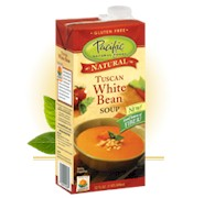 Pacific Foods Tuscan White Bean Soup