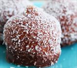 Chocolate-Covered Cherry Truffles