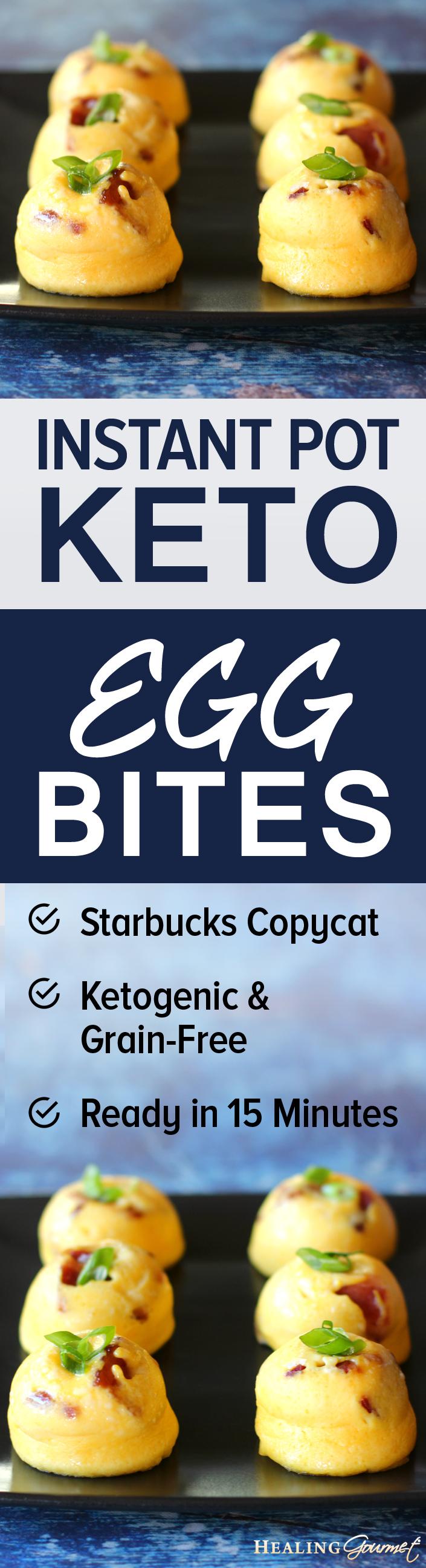 Instant Pot Sous Vide Egg Bites